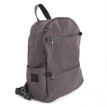 Grey Antibacterial Backpack