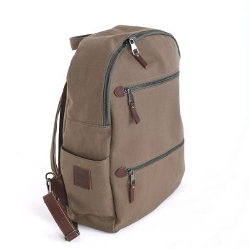 Khaki Antibacterial Backpack