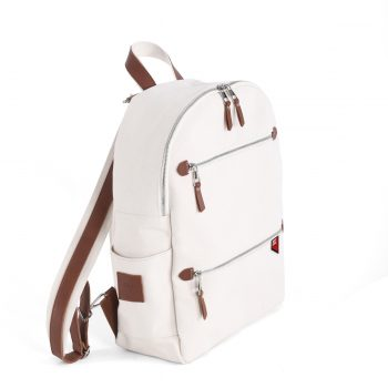 Cream Antibacterial Backpack