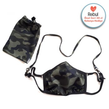 Camouflage Mask – Bag – Hanger / Pack Of 3